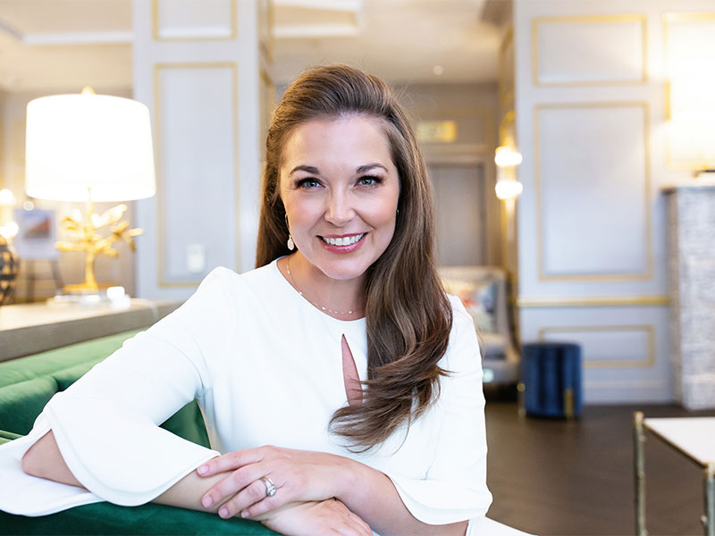 Real Estate Agent Personal Branding Photoshoot at the Alexandrian Hotel in Alexandria VA