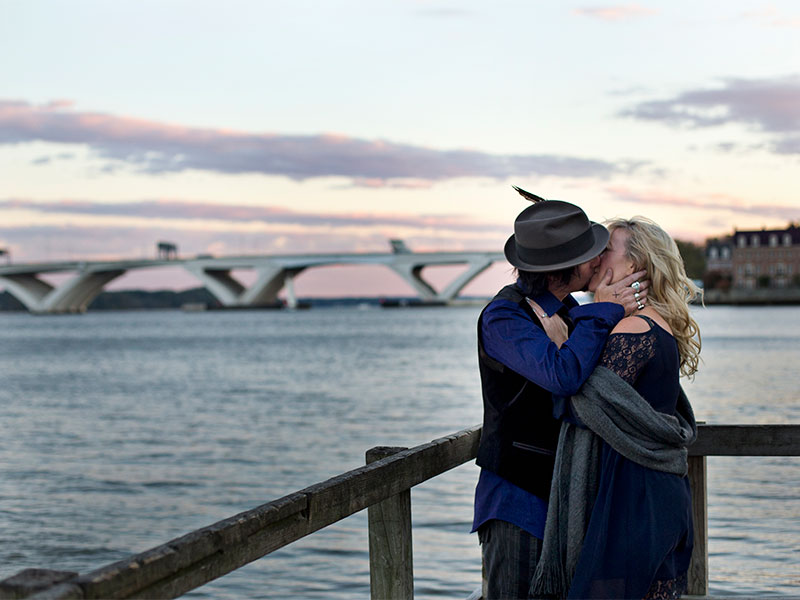 Couples Portrait Session in Old Town Alexandria VA
