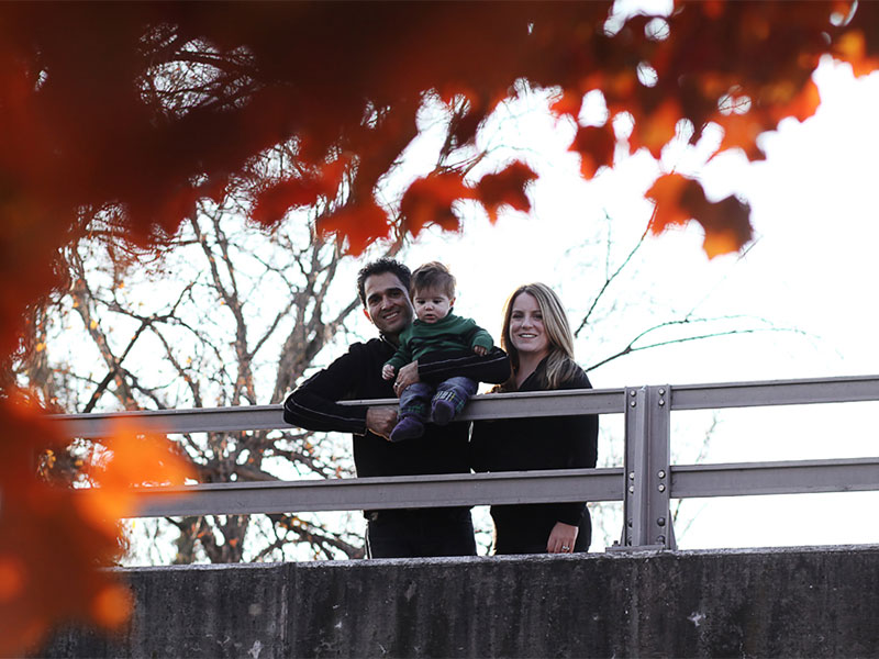 Family Portrait Session in Old Town Frederick MD
