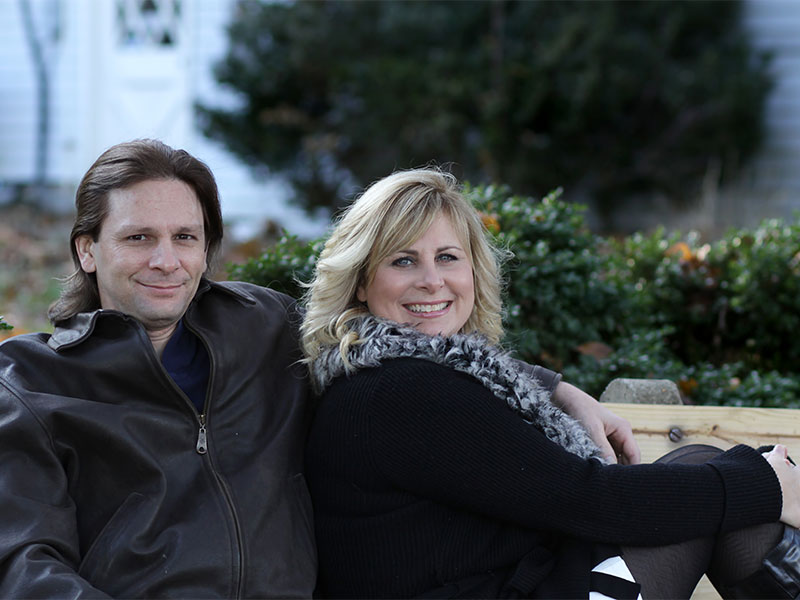 Couples Portrait Session in Old Town Occoquan VA